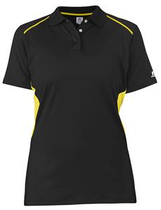 Russell Women Premium Gameday Polo UPF30+  C/O. Embroidery is available on this item.