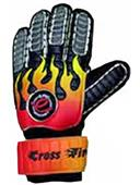 CrossFire (Finger-Protected) Soccer Goalie Gloves