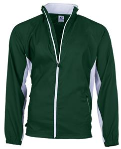 Womens Small WS Full Zip Woven Warm Up Jackets