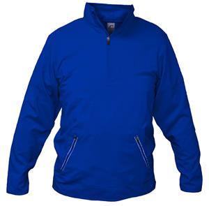 Russell  Mens Woven Long Sleeve 1/4 Zip Pullover. Decorated in seven days or less.