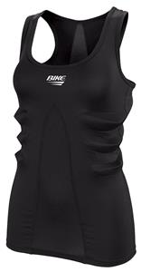Womens BLACK Vented/ Padded Racer Back Tank Top CO