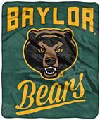 Northwest NCAA Baylor Alumni Raschel Throw