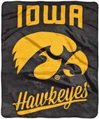 Northwest NCAA Iowa Alumni Raschel Throw