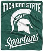Northwest NCAA Michigan State Alumni Raschel Throw