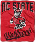 Northwest NCAA NC State Alumni Raschel Throw