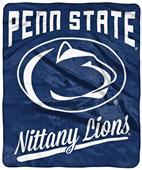 Northwest NCAA Penn State Alumni Raschel Throw