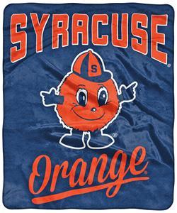 Northwest NCAA Syracuse Alumni Raschel Throw