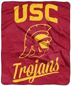 Northwest NCAA USC Alumni Raschel Throw