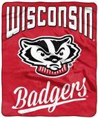 Northwest NCAA Wisconsin Alumni Raschel Throw