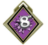 """Hasty Award G-Force 3"""" Medal Bust Out 8th Place"""