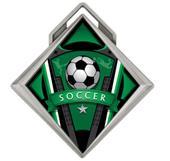 """Hasty Award G-Force 3"""" Medal Varsity Soccer"""