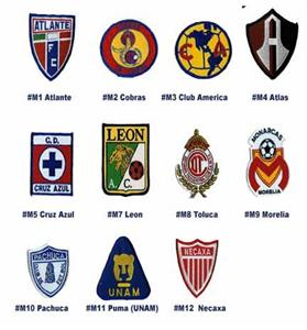 1912be93232 Mexican1st Division Soccer Team Patch - Closeout Sale - Soccer ...