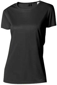 A4 Women's Cooling Performance Crew. Printing is available for this item.