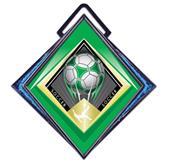 """Hasty Excel 3"""" Blue Medal G-Force Soccer Mylar"""