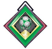 "Hasty Excel 3"" Maroon Medal G-Force Soccer Mylar"