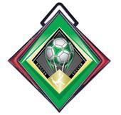 """Hasty Excel 3"""" Red Medal G-Force Soccer Mylar"""