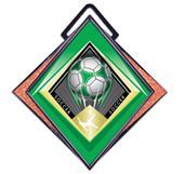 """Hasty Excel 3"""" Orange Medal G-Force Soccer Mylar"""