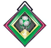 "Hasty Excel 3"" Pink Medal G-Force Soccer Mylar"