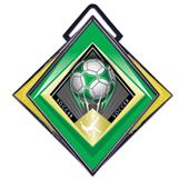 """Hasty Excel 3"""" Yellow Medal G-Force Soccer Mylar"""