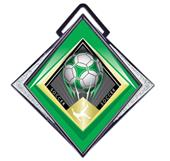 "Hasty Excel 3"" White Medal G-Force Soccer Mylar"