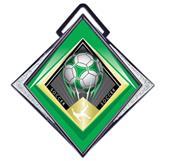 "Hasty Excel 3"" White Medal G-Force Soccer Mylar"