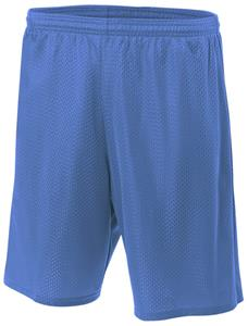 A4 Adult Lined Tricot Mesh Shorts (No Pockets)