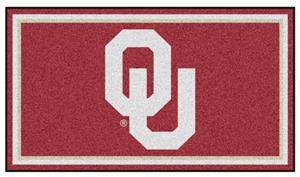 Fan Mats NCAA University of Oklahoma 3x5 Rug