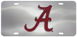 Fan Mats NCAA Alabama Diecast License Plate