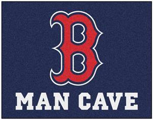 FANMATS MLB Boston Red Sox Nylon Face Deluxe Car Mat