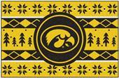 Fan Mats NCAA Iowa Holiday Sweater Starter Mat
