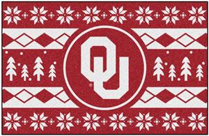 Fan Mats NCAA Oklahoma Holiday Sweater Starter Mat