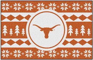 Fan Mats NCAA Texas Holiday Sweater Starter Mat