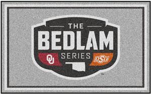 Fan Mats NCAA Bedlam Series 4'x6' Rug