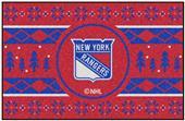 Fan Mats NHL Rangers Holiday Sweater Starter Mat