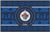 Fan Mats NHL Winnipeg Holiday Sweater Starter Mat