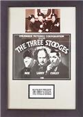 Encore Brandz Three Stooges Deluxe Frame