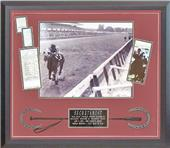Encore Brandz Belmont Stakes Autographed Frame