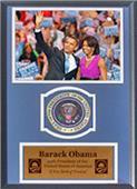 Encore Brandz Barack & Michelle Obama Deluxe Frame