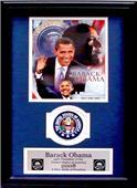 Encore Brandz Barack Obama Collage Deluxe Frame