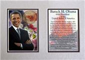 Encore Brandz Barack Obama Hawaii Matted Print