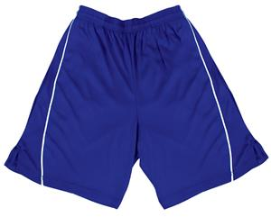 VKM Adult Youth Polyester Pocket Shorts - C/O