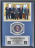 Encore Brandz Barack Obama Patch Frame