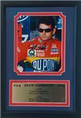 Encore Brandz Nascar Jeff Gordon Autograph Frame