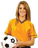 Adult Youth Unisex Nylon Dazzle Soccer Jerseys CO