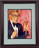 "Encore Brandz George Burns ""Oscar"" Autograph Frame"
