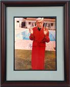 "Encore Brandz George Burns ""Robe"" Autograph Frame"