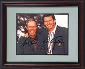 Encore Brandz PGA Crenshaw & Faldo Autograph Frame