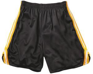 """VKM Adult 7"""" Inseam Drawstring V-Notch Mesh Shorts -CO"""