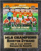 Encore Brandz MLS 2007 Houston Dynamos Stat Plaque