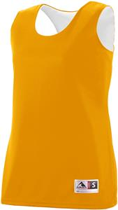 Augusta Ladies GOLD Reversible Wicking Tank